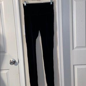 White House black  market velvet leggings